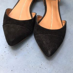 Dolce Vita Size 8.5 Open Toe Flat Mary Jane Vienna 22 Gold